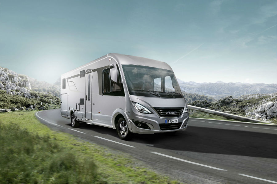 Lightweight chassis elements for HYMER